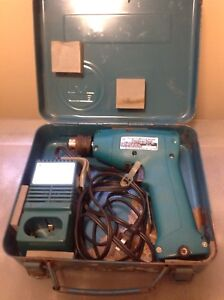 Makita 6002D (10mm) Cordless Drill/Driver w/ case and charger