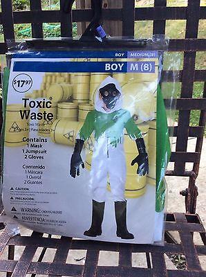 Halloween costume boys Toxic Waste size m-8