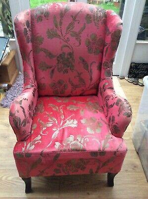 Vintage/ retro fireside armchair