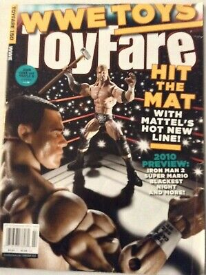 WWE Toys Toyfare Magazine Deluxe Aggression Figures February 2010 022219nonrh for sale  Shipping to India