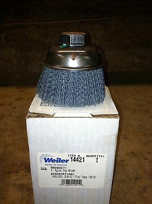 Weiler 3 Inch Coated Nylon Cup Polisher 100 Available