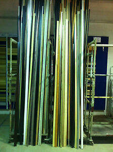 Picture Frame Mouldings Assorted LOT Min 30 Metres