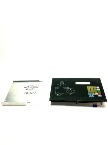 Aec 7632-1 Whitlock Dryer Front Touch Panel