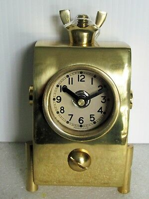 PENDULUX   WINGNUT TABLE CLOCK -TCWINBR for sale  Shipping to India