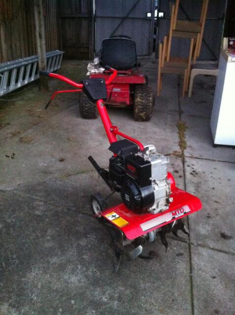 Rotary hoe cultivator tiller for hire 50 day tools for Gardening tools gumtree