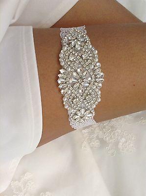 Wedding Garter Bridal White Lace