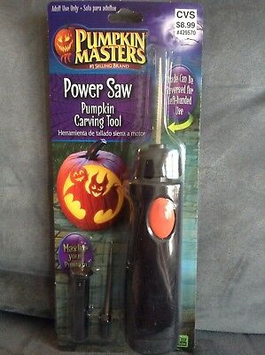 PUMPKIN MASTERS PUMPKIN CARVING POWER SAW - NEW IN - Pumpkin Power Saw