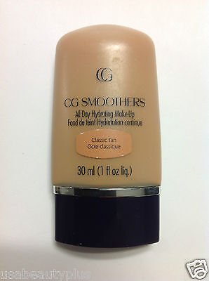 CoverGirl CG Smoothers All Day Hydrating Makeup Foundation CLASSIC TAN.