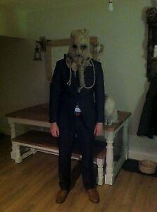 Realistic BATMAN Scarecrow Mask Superhero Villain Theme FANCY DRESS