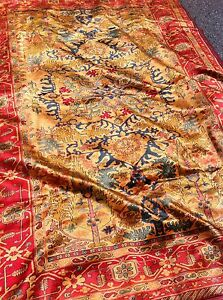 Persian handmade silk rug