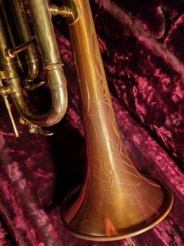Early!  CG Conn 12B Trumpet..