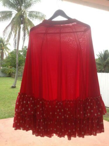 FLAMENCO DRESSES, SKIRTS & SCARFS LOT