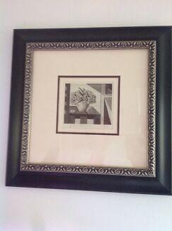 "Margaret Preston lithograph "" Gum Blossoms"""