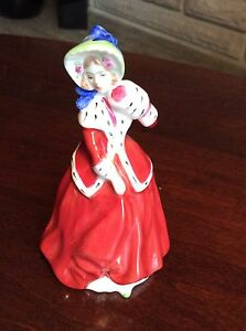 Royal Doulton Christmas miniature figurine