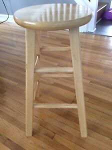 Stools - counter height solid wood