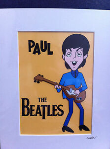The-Beatles-Paul-McCartney-Hand-Drawn-Hand-Painted-Cel
