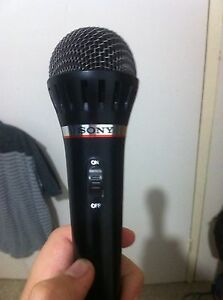 Sony Corded Mic Giralang Belconnen Area Preview