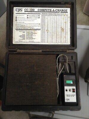 Cps Cc100cc100e Compute A Charge Hvac Refrigerant Scale-freon Scale