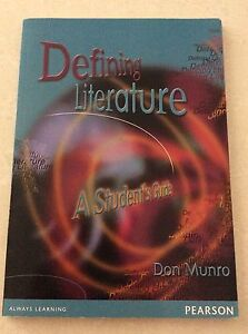 Defining Literature A Student's Guide Rivervale Belmont Area Preview