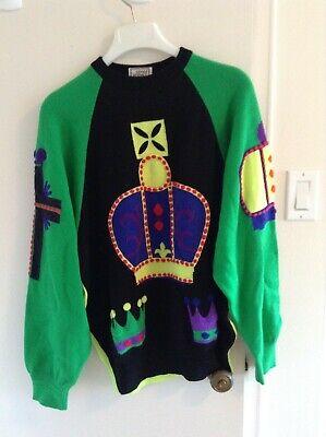 Rare Versace men's wool sweater