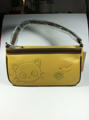 Sanrio Chococat Light Brown Color Small Leather Hand Bag