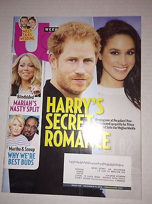 Us Weekly Magazine Prince Harry Snoop Dogg November 14  2016 022817Nonrh