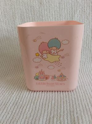 Little Twin Stars Pink Canister Sanrio Storage