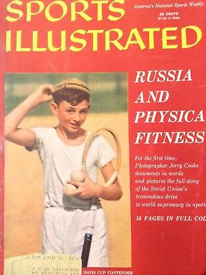 Sports Illustrated Magazine Russia And Fitness December 2, 1957 120818nonrh ()