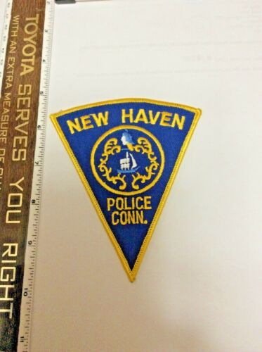 New Haven Connecticut Police Shoulder Patch New