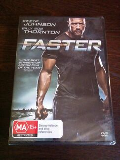 Dwayne 'the rock' Johnson FASTER dvd brand new in packaging Delahey Brimbank Area Preview