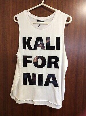 Kendall & Kylie Kalifornia SleevelessT-Shirt.Size Small.Very Good Condition.