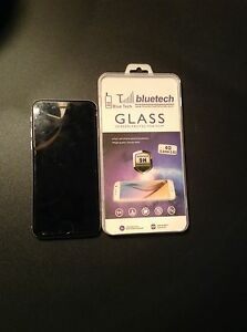 16GB IPHONE 6 WITH NEW GLASS SCREEN PROTECTOR (locked to TELUS)