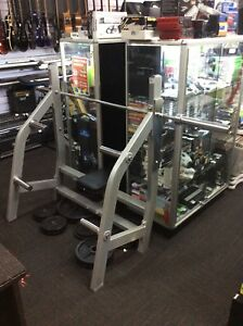 73435 - Muscle Motion Commercial Olympic Flat Bench Frankston Frankston Area Preview