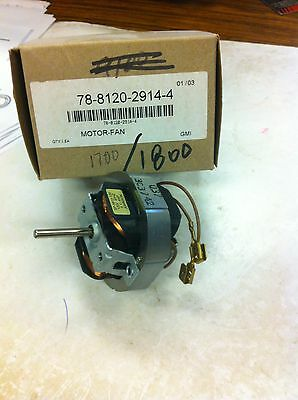 3m Overhead Projector Replacement Fan Motor 78-8120-2914-4 For 17001800 Or Simi