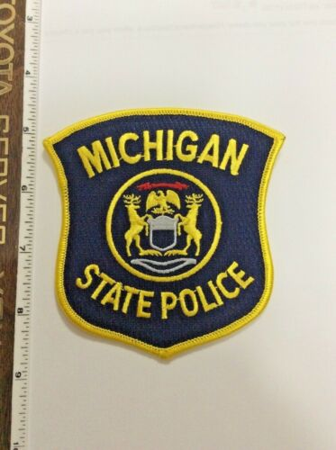 Michigan State Police Shoulder Patch New