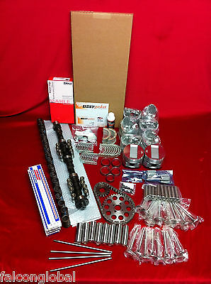 Cadillac 390 Deluxe Engine Kit Pistons+MOLY Rings+Cam+FEL PRO gaskets 1959-62