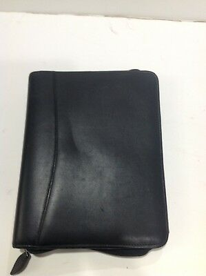 Classic 1 18 Ring Black Leather Franklin Covey Planner Binder 22659.481