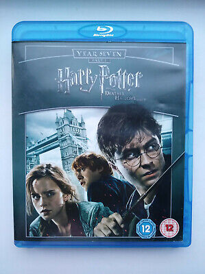 Harry Potter and the Deathly Hallows: Part 1 (Blu-Ray, 2010) Daniel Radcliffe