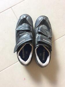 Bmx/bicycle clip shoes