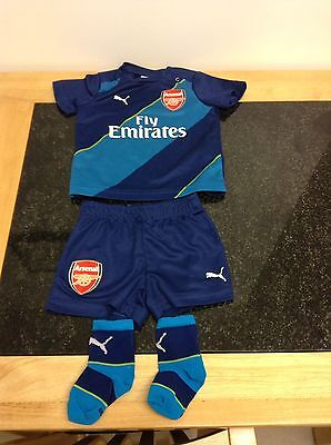 Used, Vintage Arsenal Jersey Baby kit 6-9 Months for sale  Sudbury