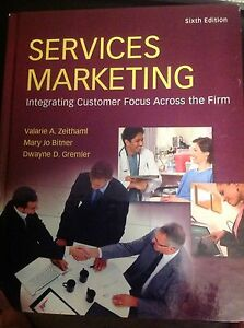 Services Marketing: 6th Edition