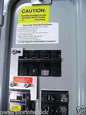 Ite-200a Murray Siemens Ite Generator Interlock Kit 150 Or 200 Amp Panel Listed
