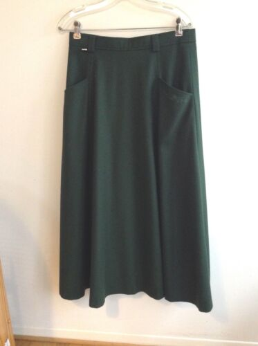 TYROL Style Traditional Ladies German Austria Long Skirt - Wool/Cashmere - 12 US