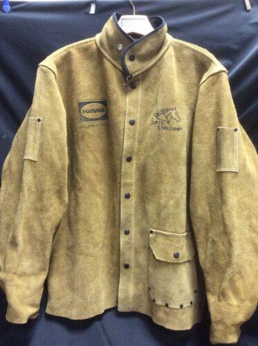 Revco Black Stallion Split Cowhide Leather Welding Jacket (small)