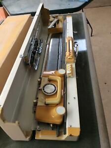 Singer knitting machine, ribber, knit radar and large box ...