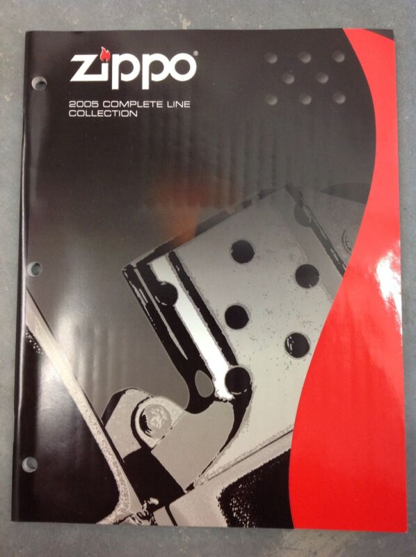ZIPPO 2005 COMPLETE LIGHTER COLLECTION CATALOG BOOK