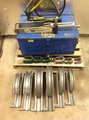 Greenlee 882cb Hydraulic Pipe Bender 1 14 2 Emt Rigid Conduit Wpump 7153a