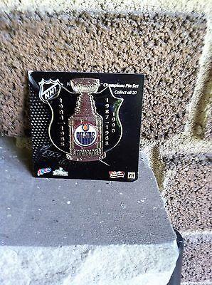 Edmonton Oilers Stanley Cup Champions Pin Conagra Foods  Mip  2008