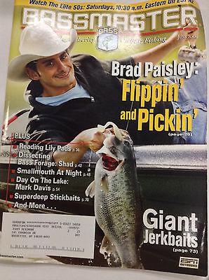 Bassmaster Magazine Brad Paisley Fishing June 2004 042617Nonr2
