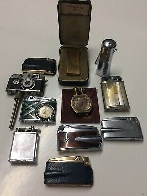 JOB LOT VINTAGE LIGHTERS  COLLECTABLE